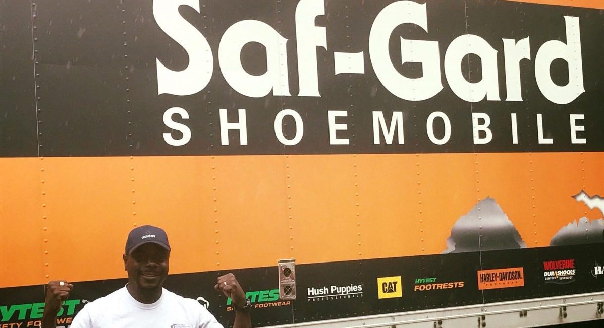 HOC Members Get New Safety Shoes