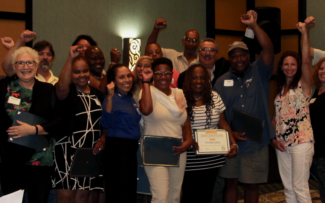 Canvassers Honored at Shop Stewards Seminar