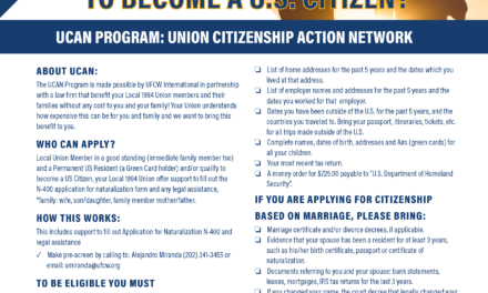ARE YOU READY TO BECOME A U.S. CITIZEN? NOT A U.S. CITIZEN BUT WANT TO APPLY TO BECOME ONE?